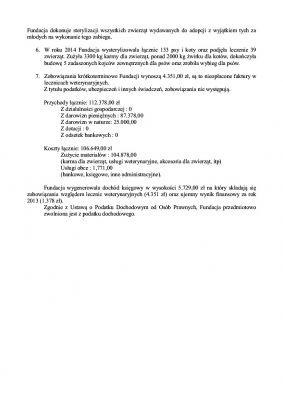 Sprawozdanie Fundacji za 2014 s2