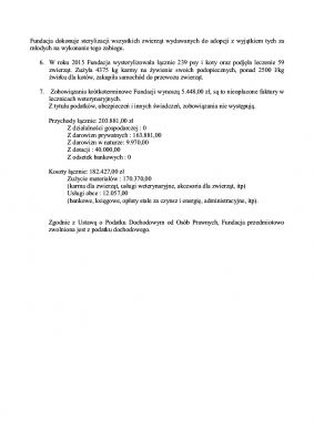 Sprawozdanie Fundacji za 2015 s2